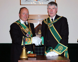 MWGM Bro. Charles Wolrige Gordon + RWPGM Bro. William Grant