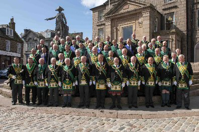 Grand Lodge of Scotland + Provincial Grand Lodge Aberdeenshire East